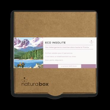 Coffret Cadeau Naturabox Eco Insolite 1 Nuit