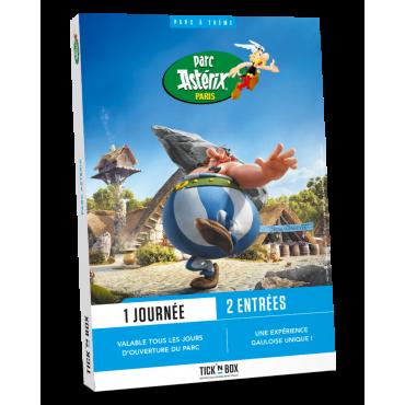 Coffret Cadeau Tick'nBox Parc Astérix 1 Jour