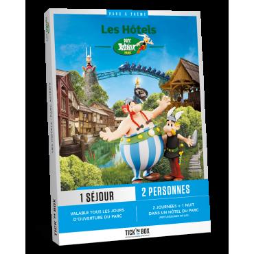 Coffret Cadeau Tick'nBox Séjour Parc Astérix 1 Nuit